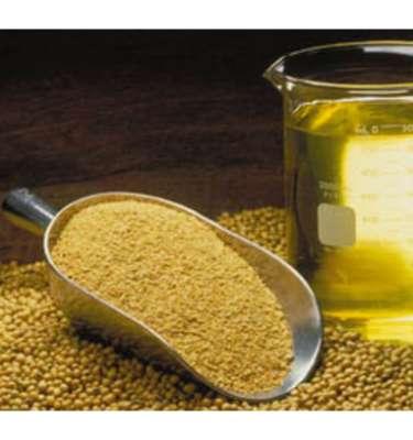 Crude degummed soya oil